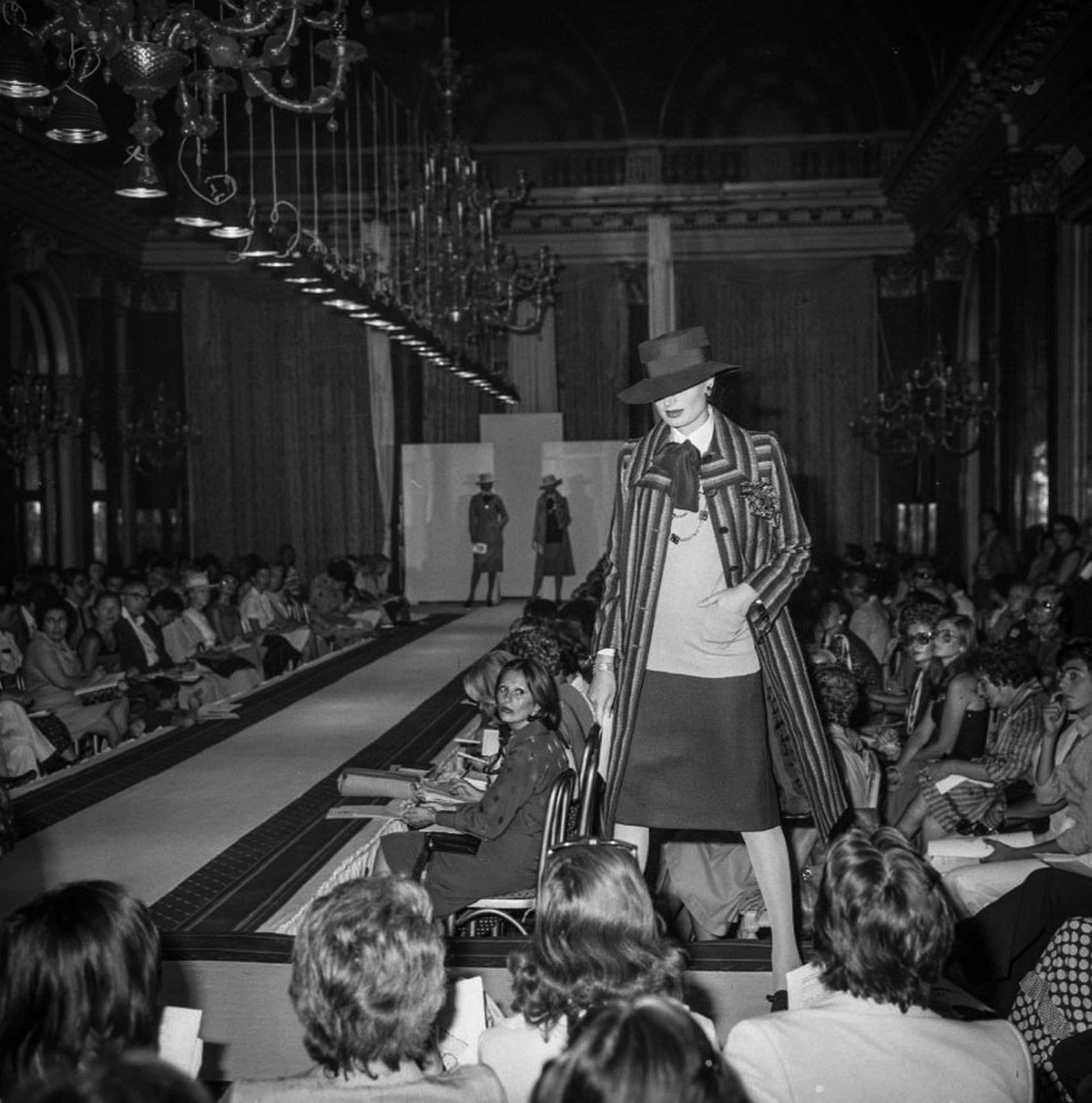 - In 1962, new emerging talented fashion designers, such as Valentino, Nino Cerruti, Ferré, Sarli, and Mila Schon, organized their first important fashion show at The Grand Hotel in the amazing Ritz Ballroom.