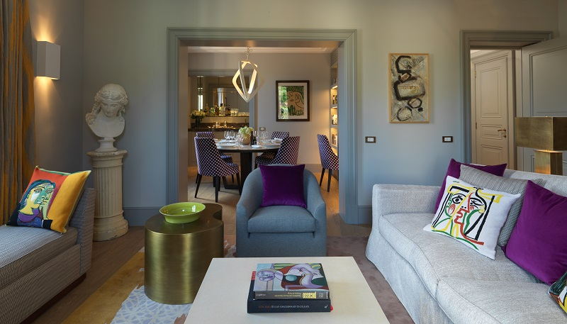 RFH Hotel de Russie - Picasso Suite - Sitting room looking towards dining room - resize.jpg