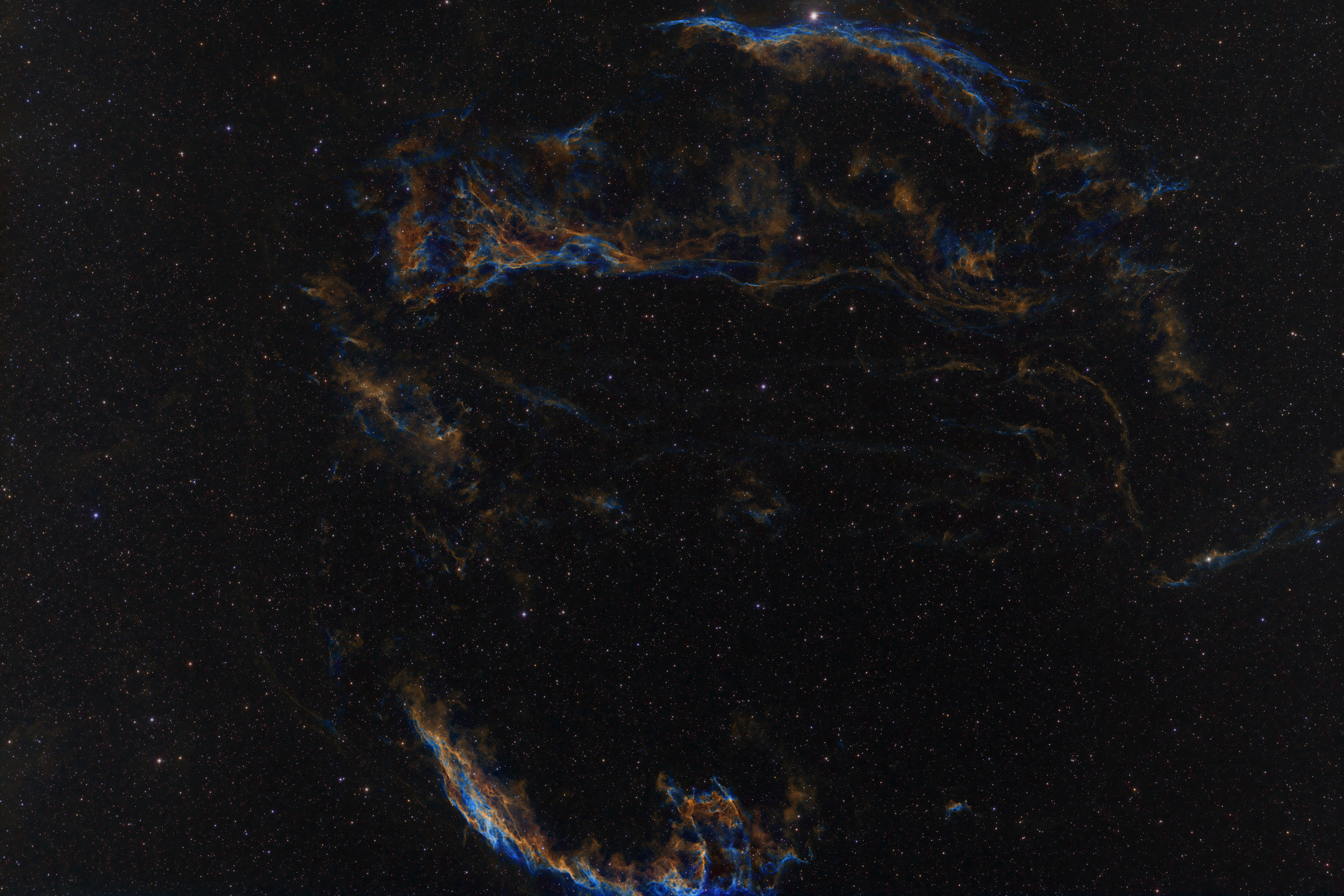 Veil Complex in narrowband