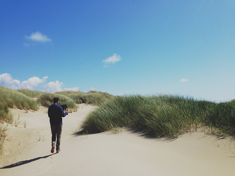 Midday at the Dunes: you won't find a better locale to test out a camera's capabilities with latitude.
