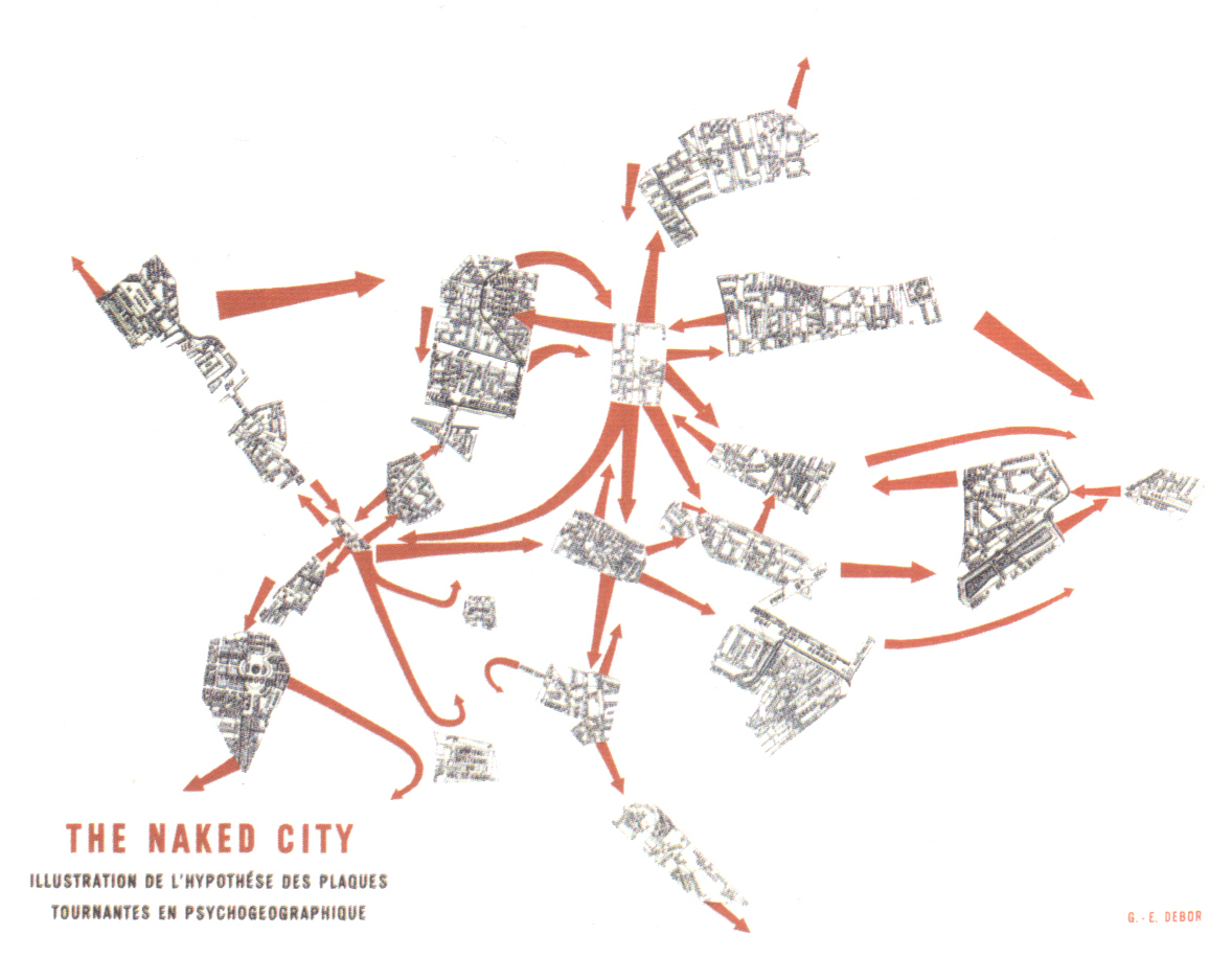 """""""The Naked City"""" by Guy Debord"""