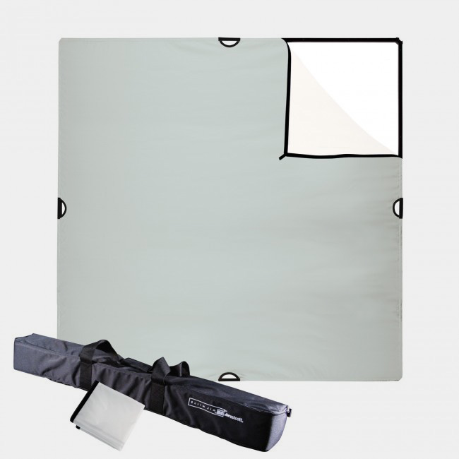 A handy dandy  Scrim Jim  allows you to modify natural light any which way you please. Add, cut, diffuse, and block the Sun to your heart's content.
