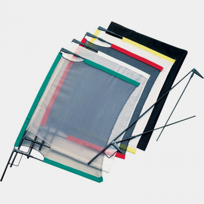 Wescott Fast Flags are an affordable and compact option for modifying natural light.