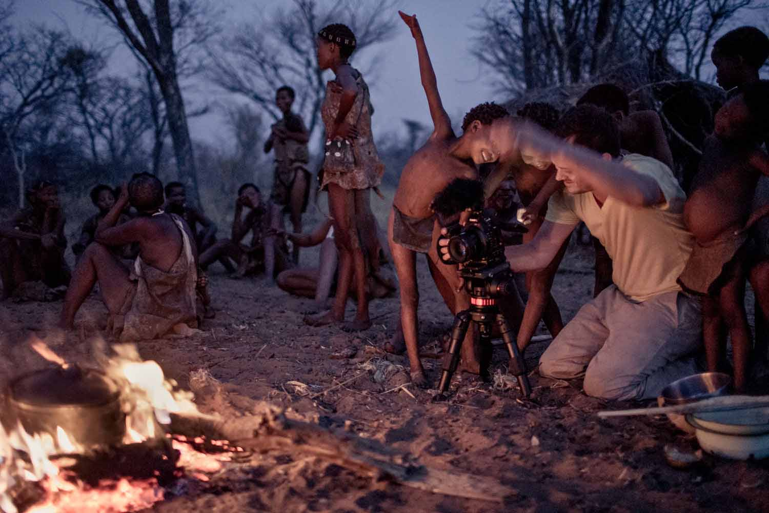 Patrick Moreau, of  Stillmotion , filming in Nambia for  #standwithme .