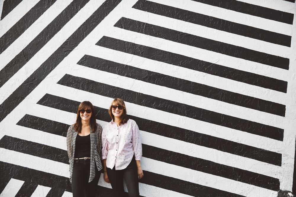 Elaine Sheldon and Sarah Ginsburg , creators of She Does  podcast.