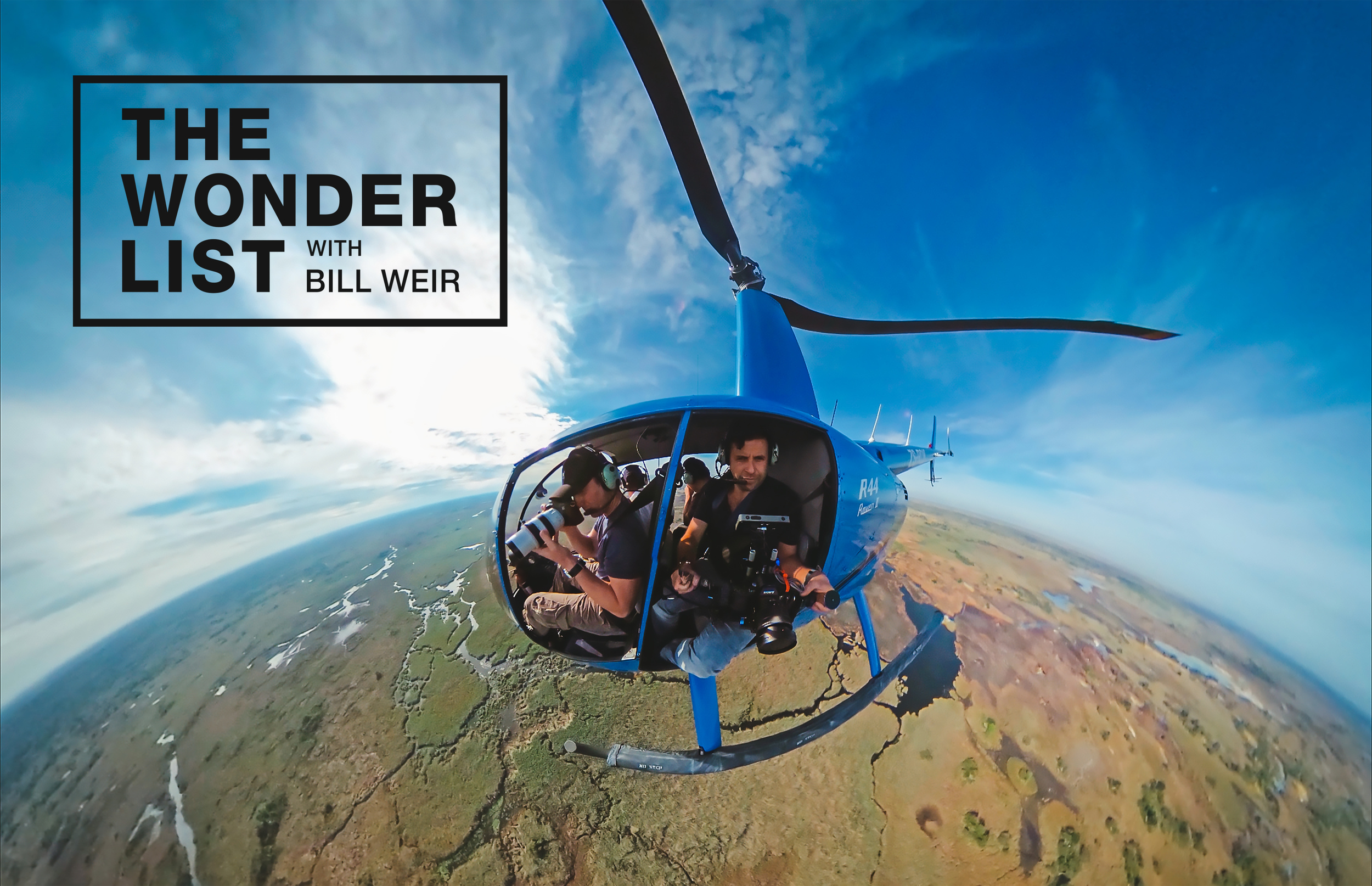 Aerial shooting for  The Wonder List