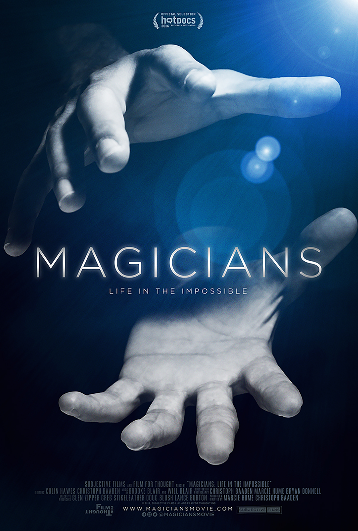 Poster from  Magicians: Life in the Impossible