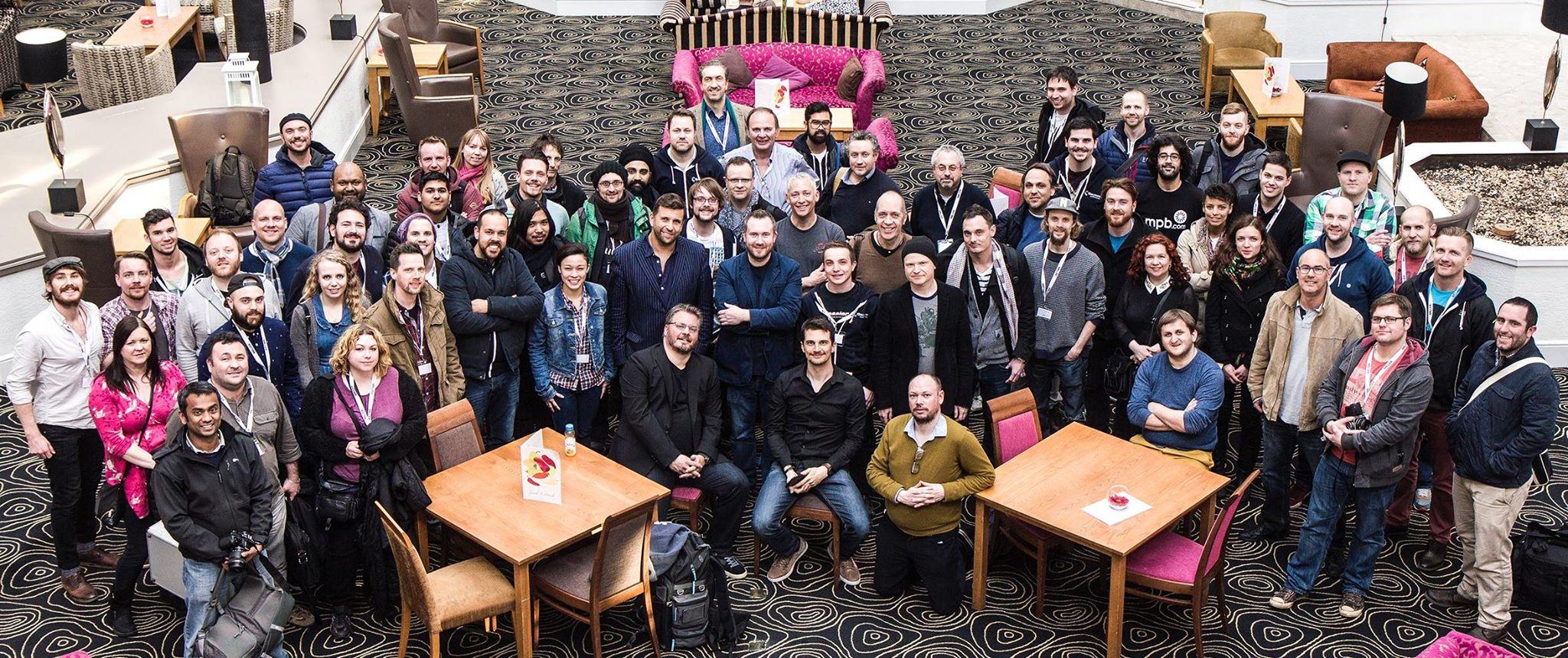 Shadows & Light participants. Image courtesy of shadowsandlightmedia.com.