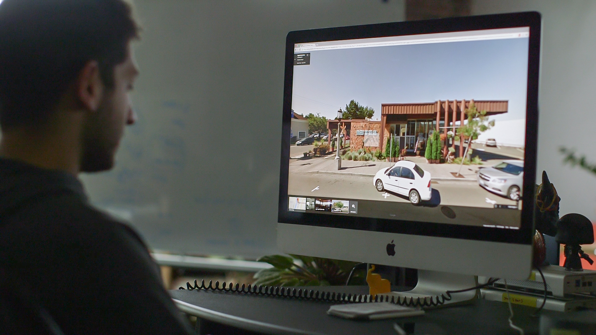 Google street view is great for location scouting.