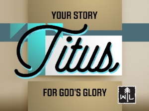 Paul leaves his disciple Titus on the infamous isle of Crete, equipped with only the gospel of Jesus Christ and his own unique story. Discover how God wants to use YOUR story for His ultimate glory, if you are willing to tell it!