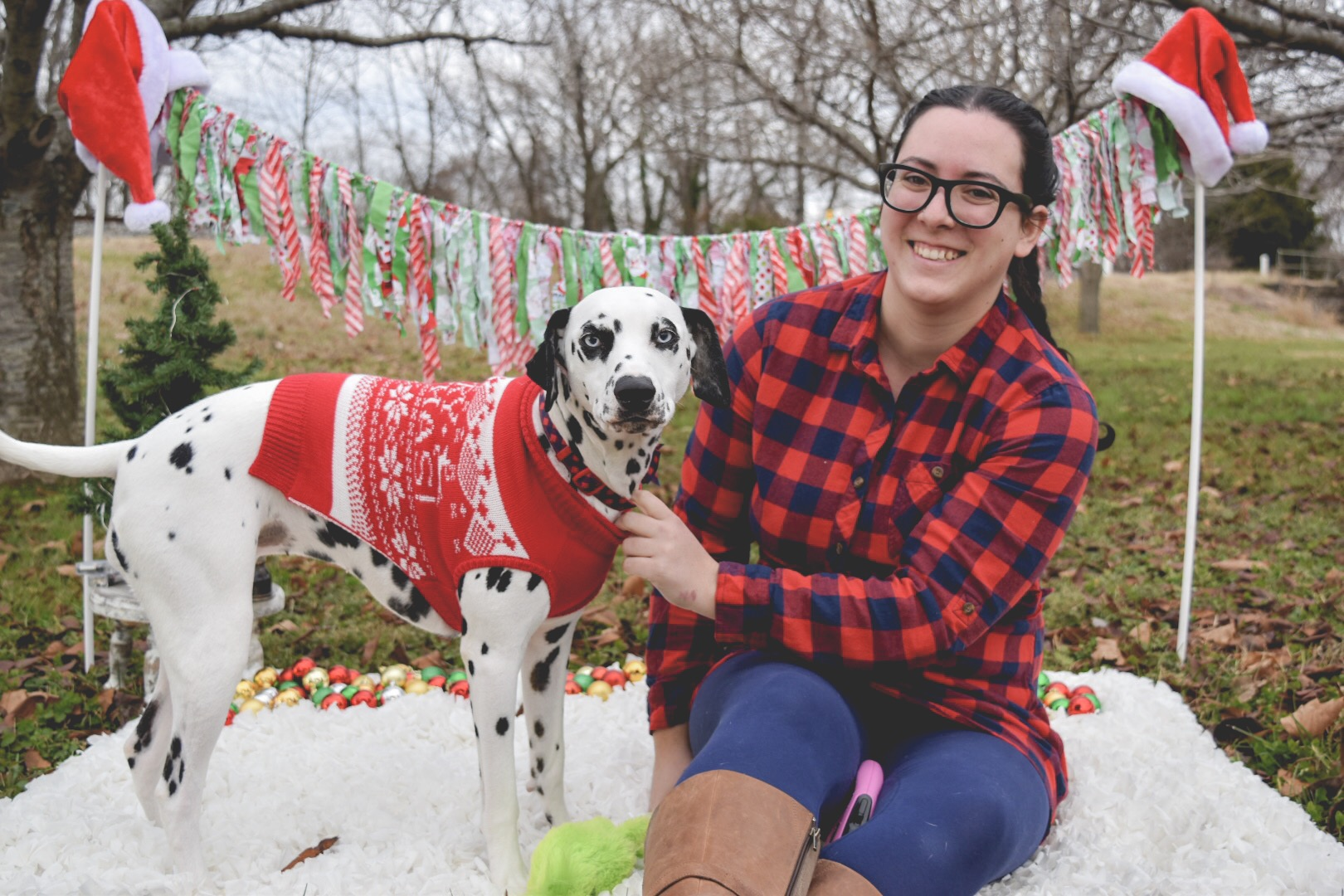 Kali came for a visit! - I LOVE this sweet Dalmatian! Rebecca is alright too… HA! Just kidding Rebecca, LOVE you too! You bring this adorable ball of joy back to me!