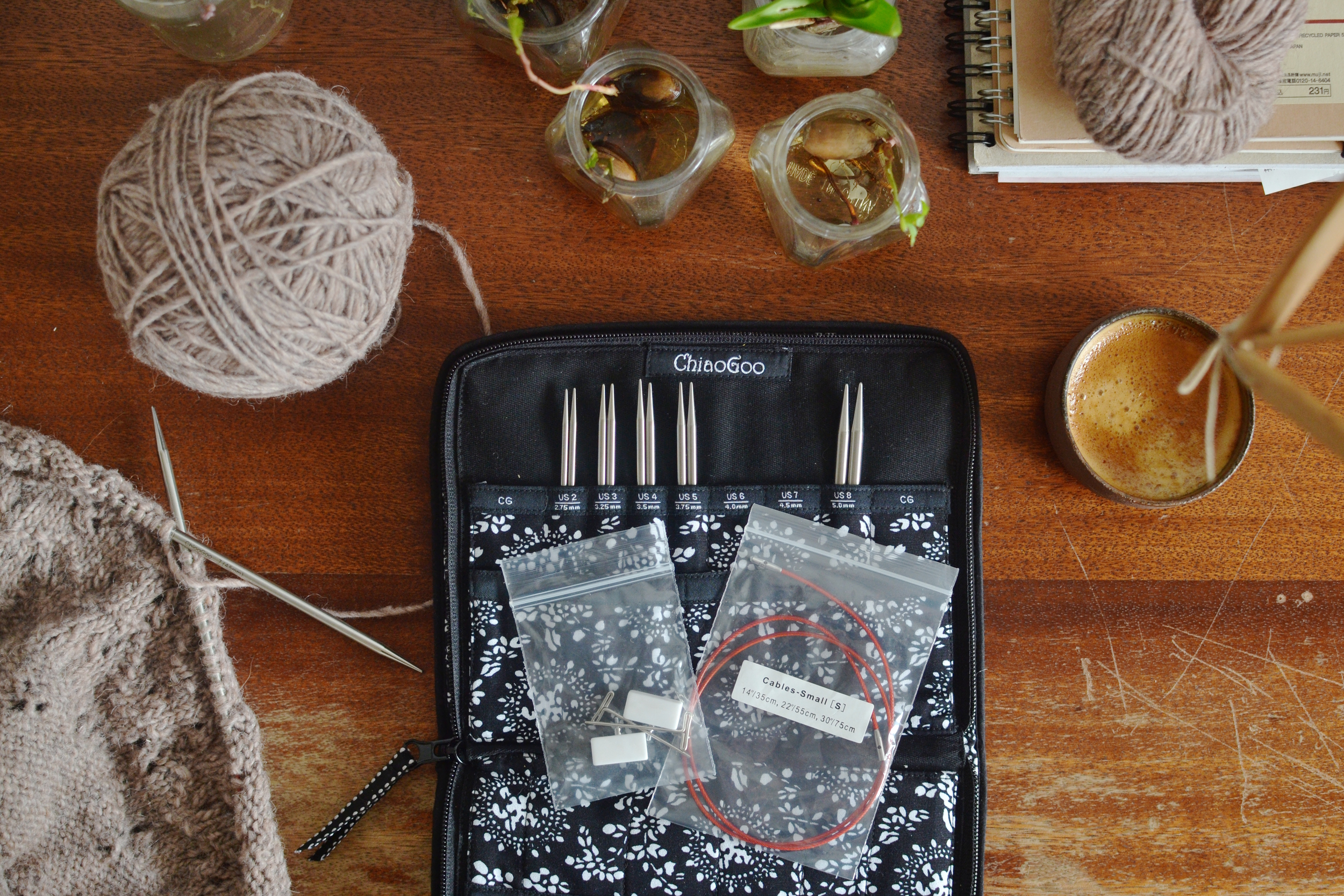 Chiagoo circualr needles kit review / Mandarine's