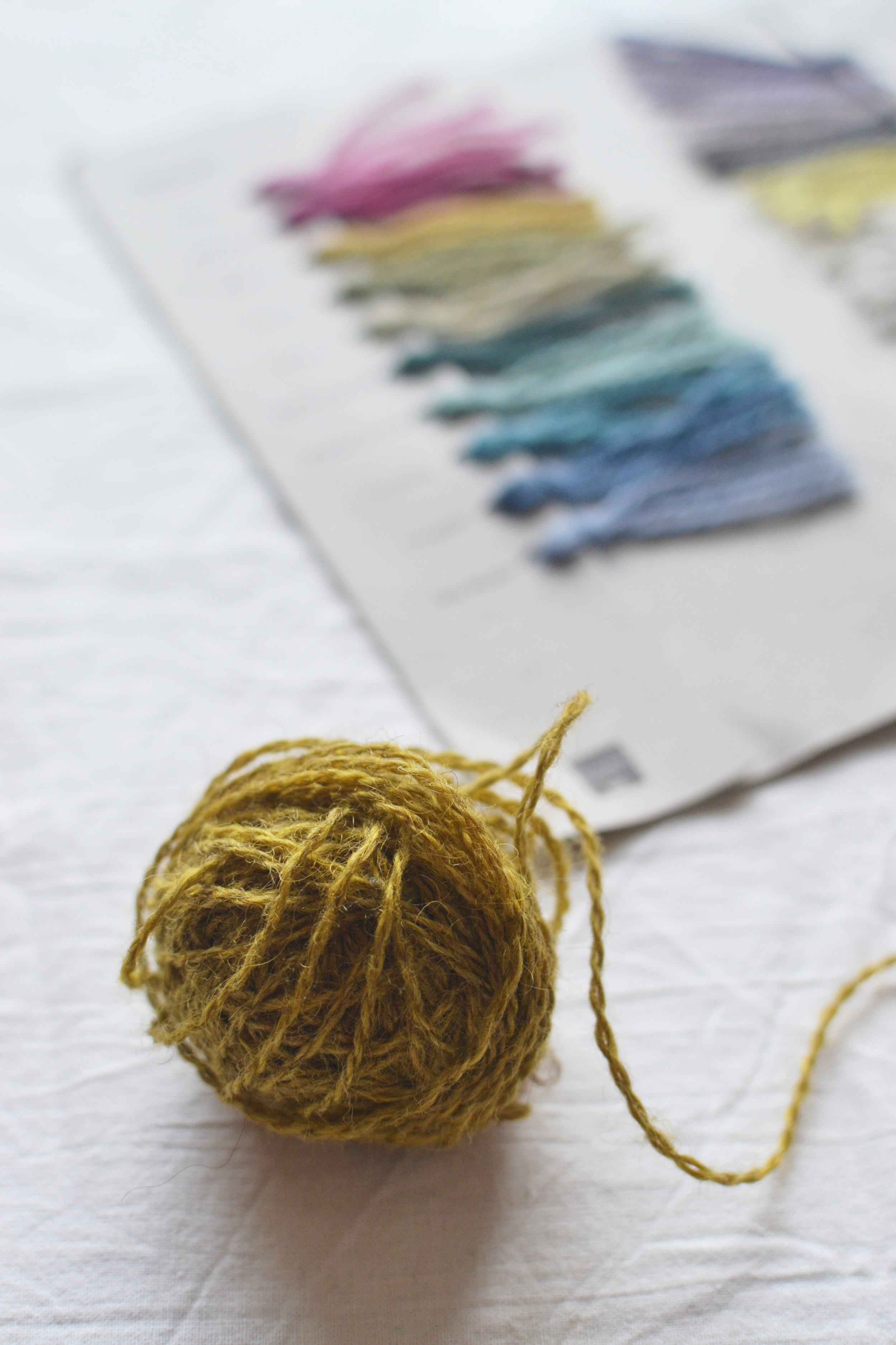 Mandarine's Yarn review & giveaway: Blacker Yarns, Tamar