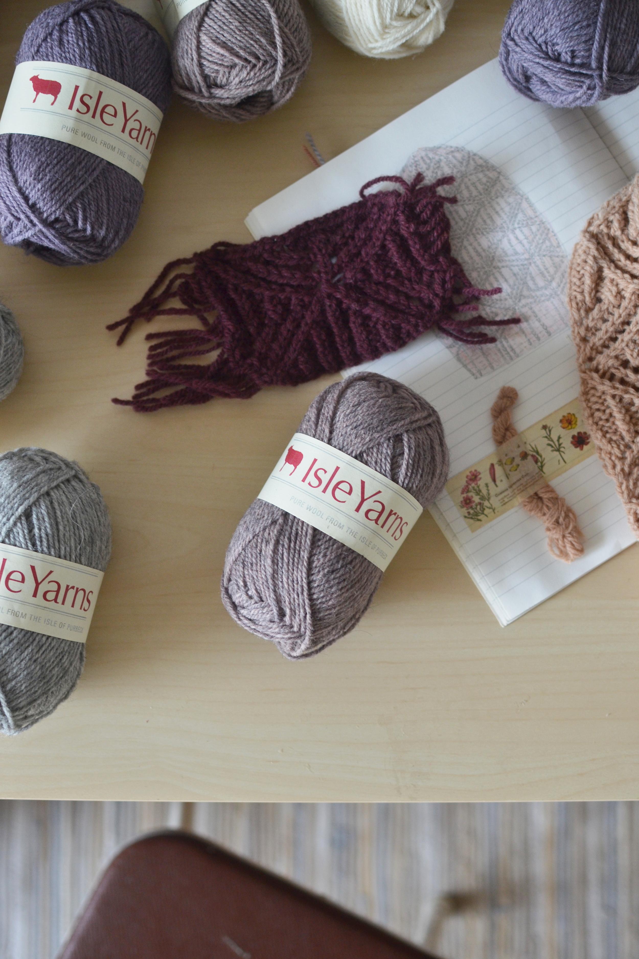 Mandarine's yarn review & giveaway: Isle yarns