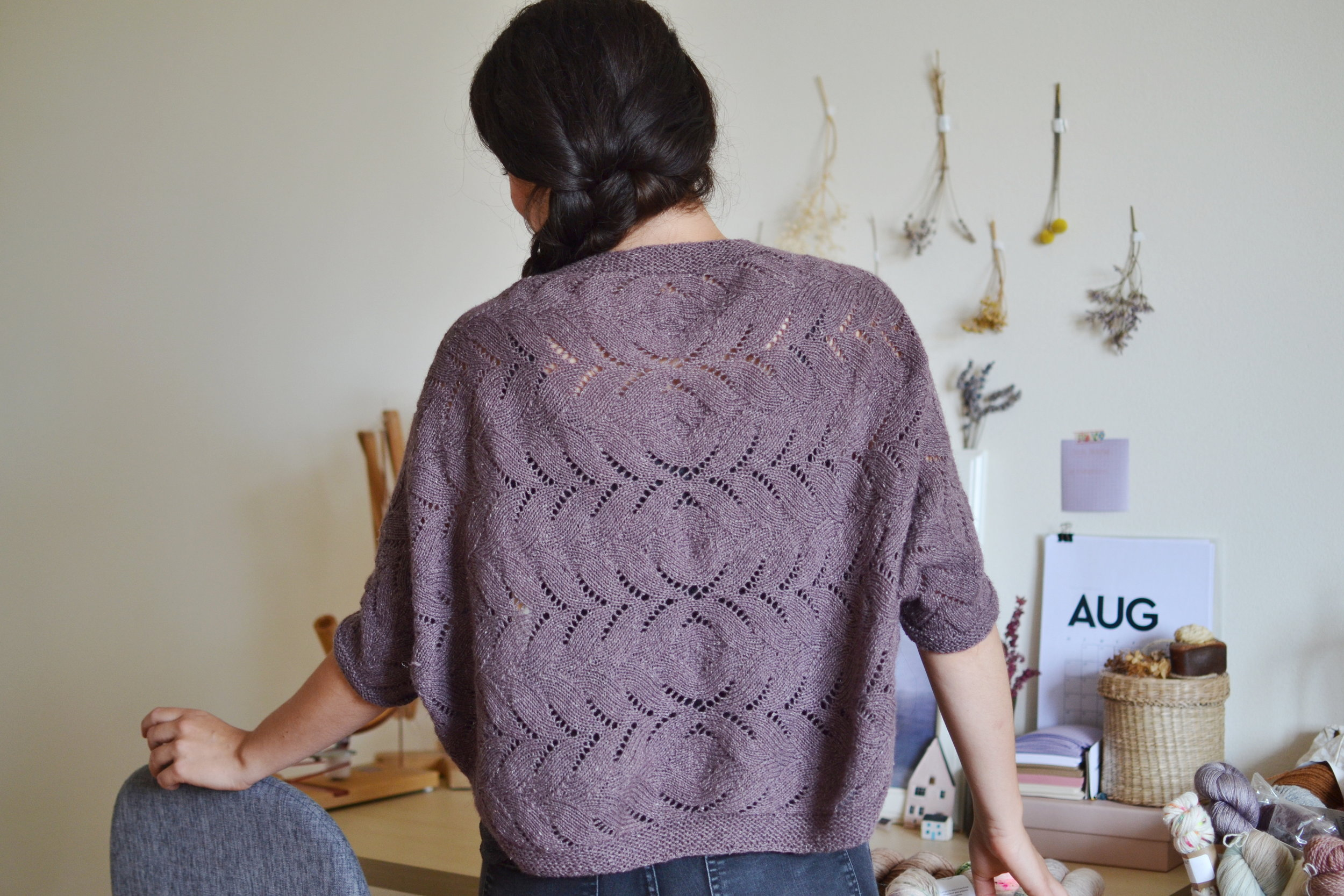 iris shrug in samite Melody Hoffmann