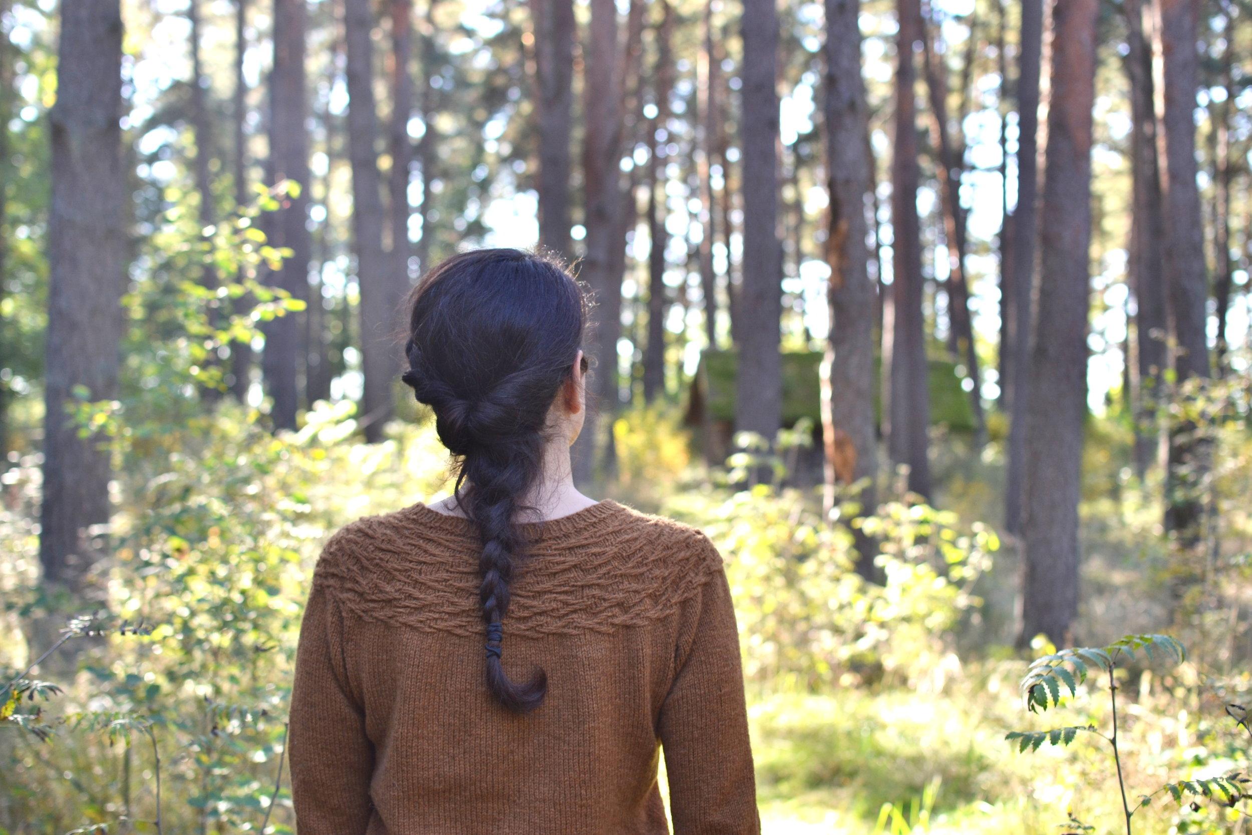 Little twigs sweater by Melody Hoffmann