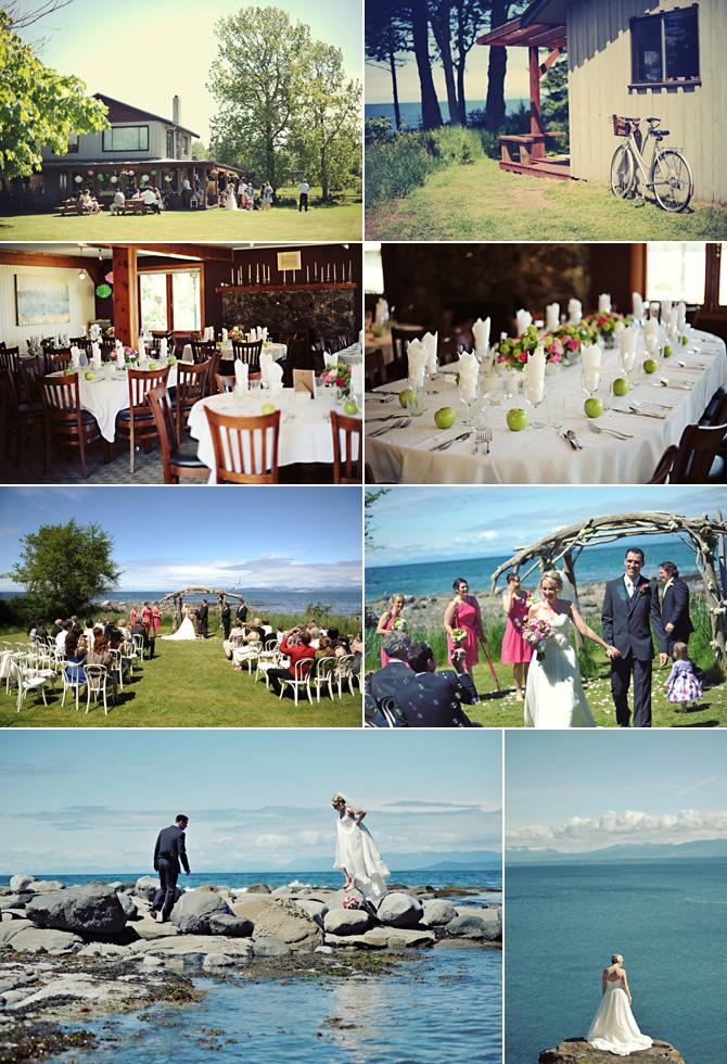 Hornby Island Wedding Venue