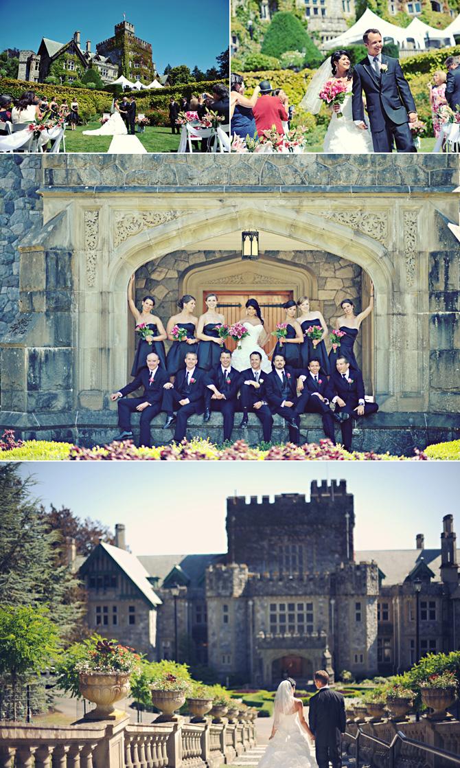 Hatley Castle Wedding