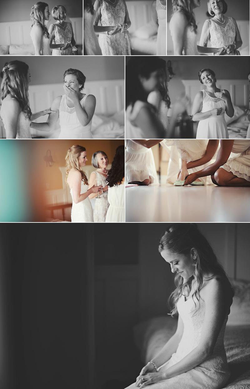 新娘准备好了。准备好了