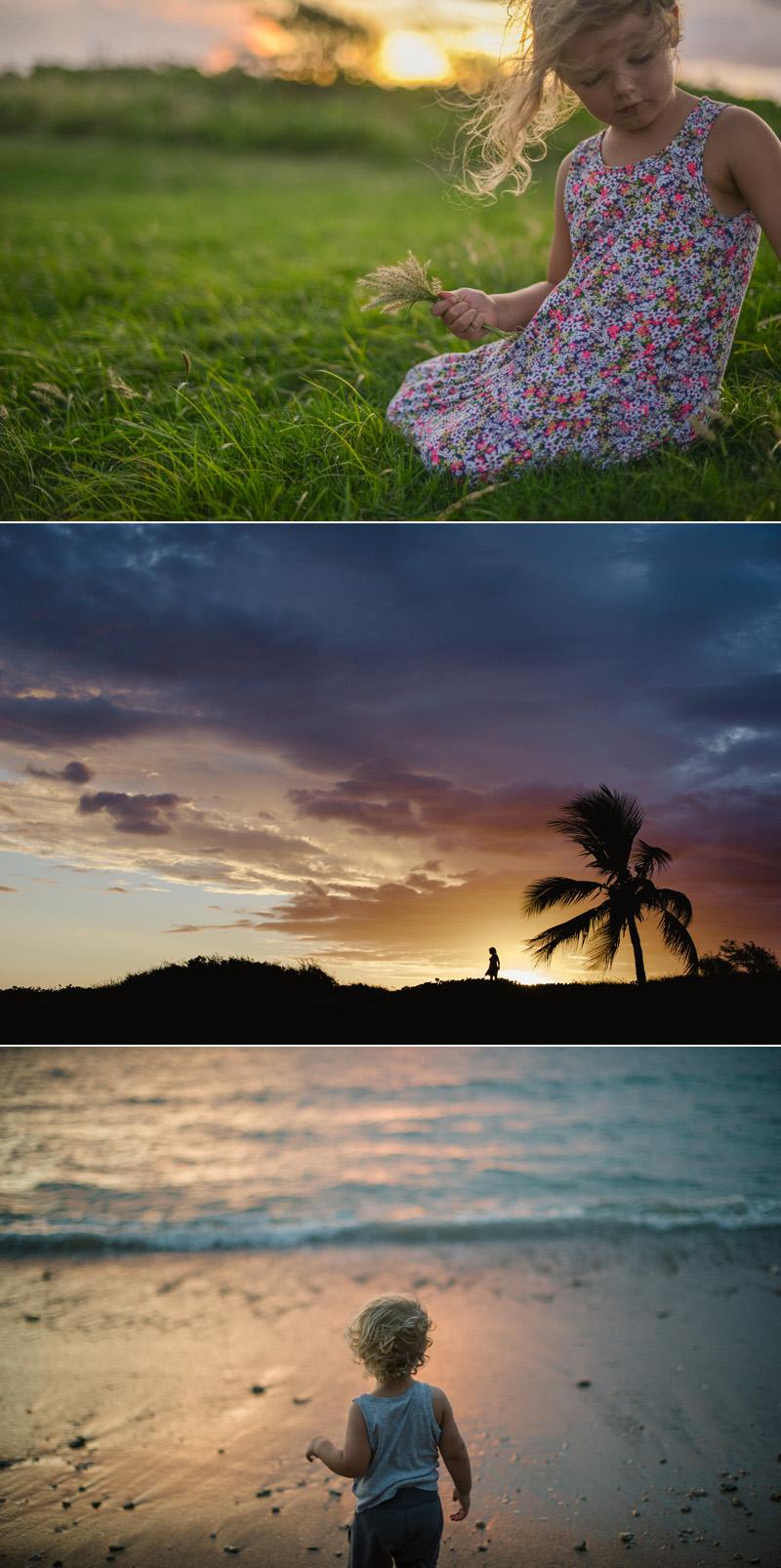 vacation sunset
