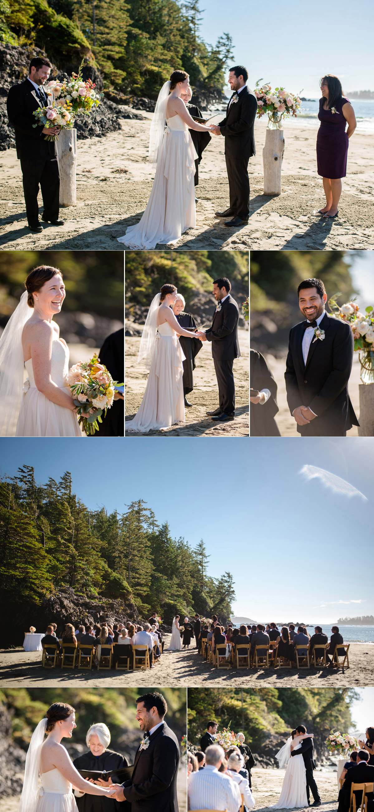 tofino wedding ceremony
