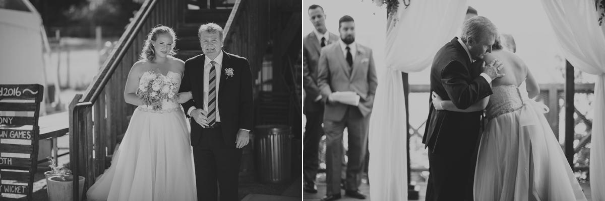新娘和爸爸