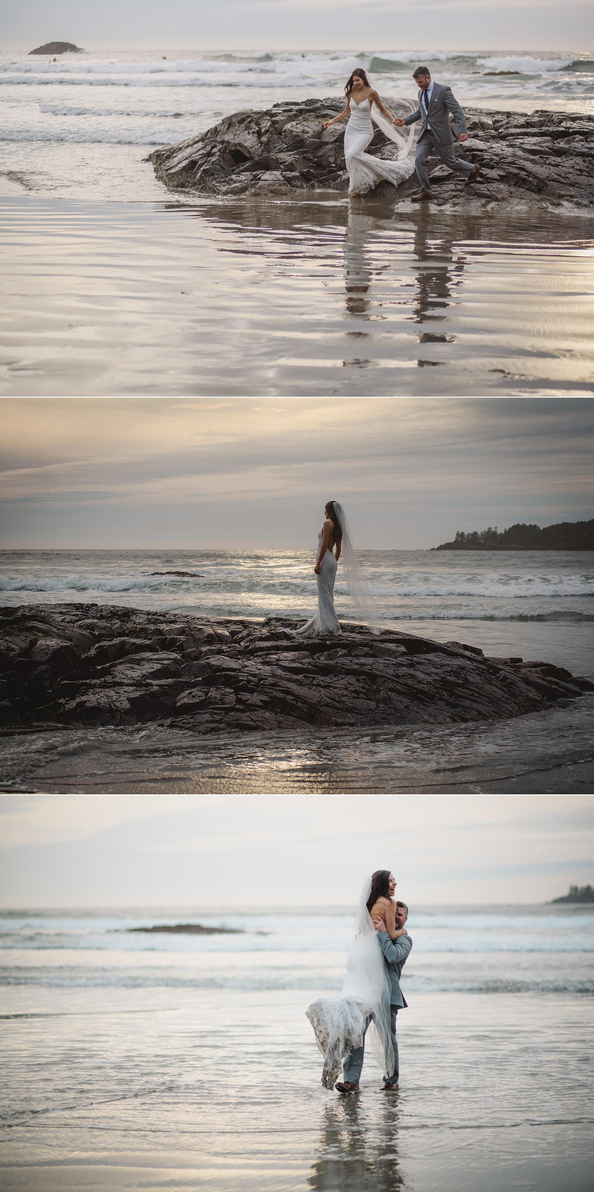 188金宝博线上平台在卡莉·巴斯的婚礼上,拍照的活动
