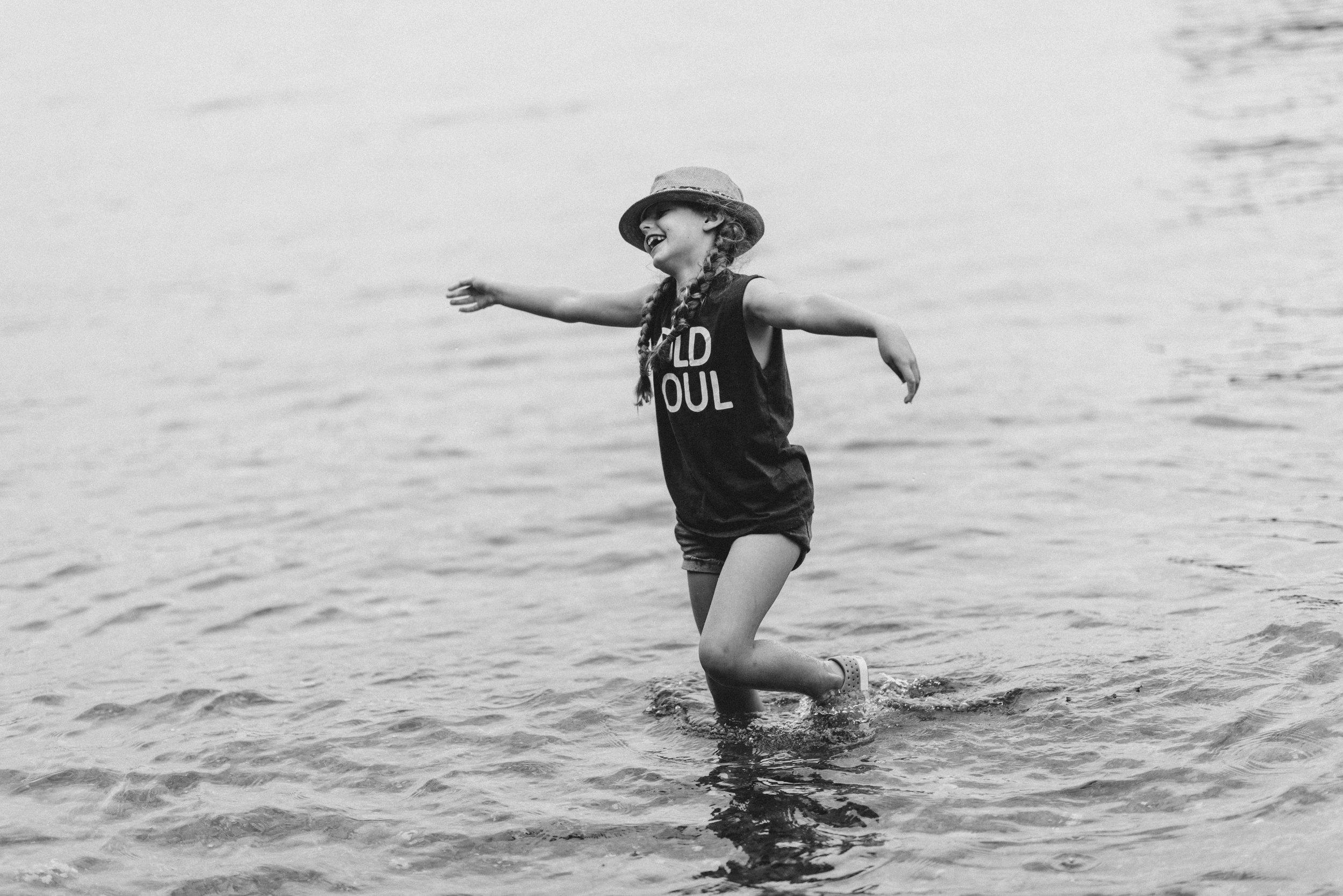 old soul in the ocean