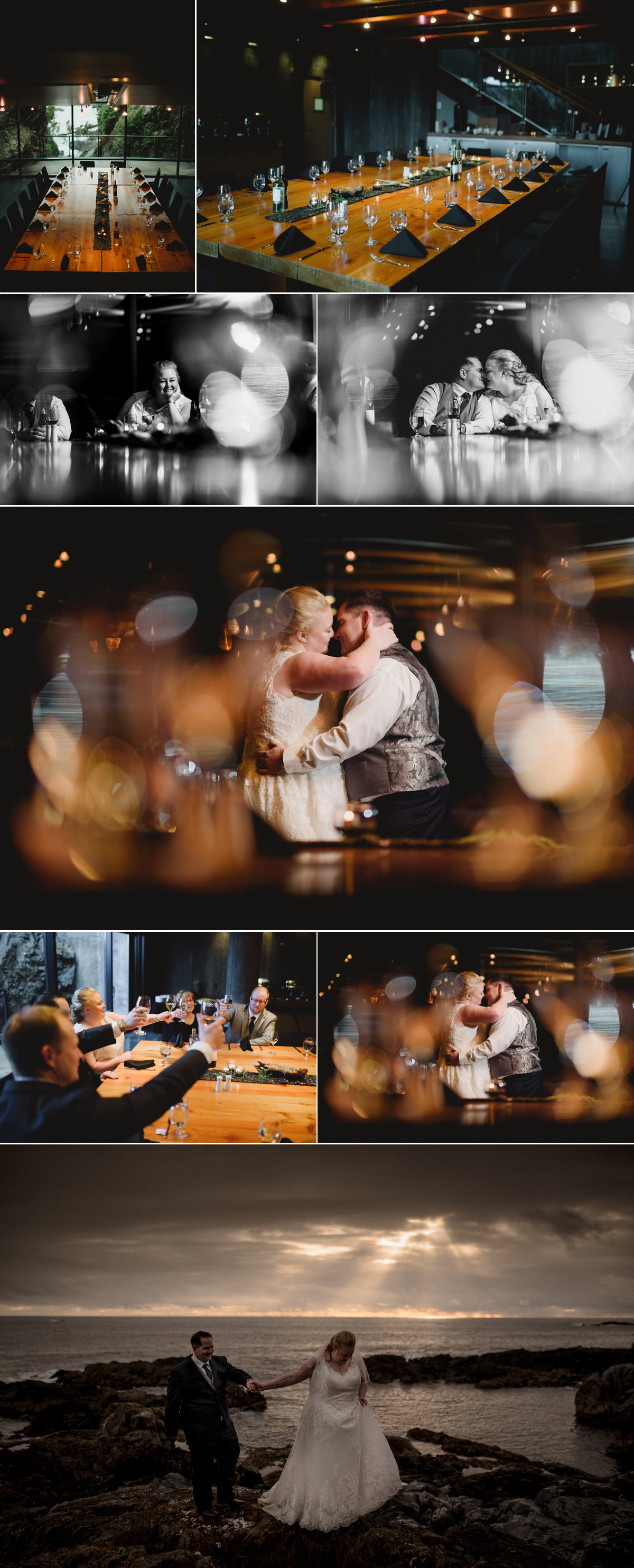 intimate wedding reception ucluelet