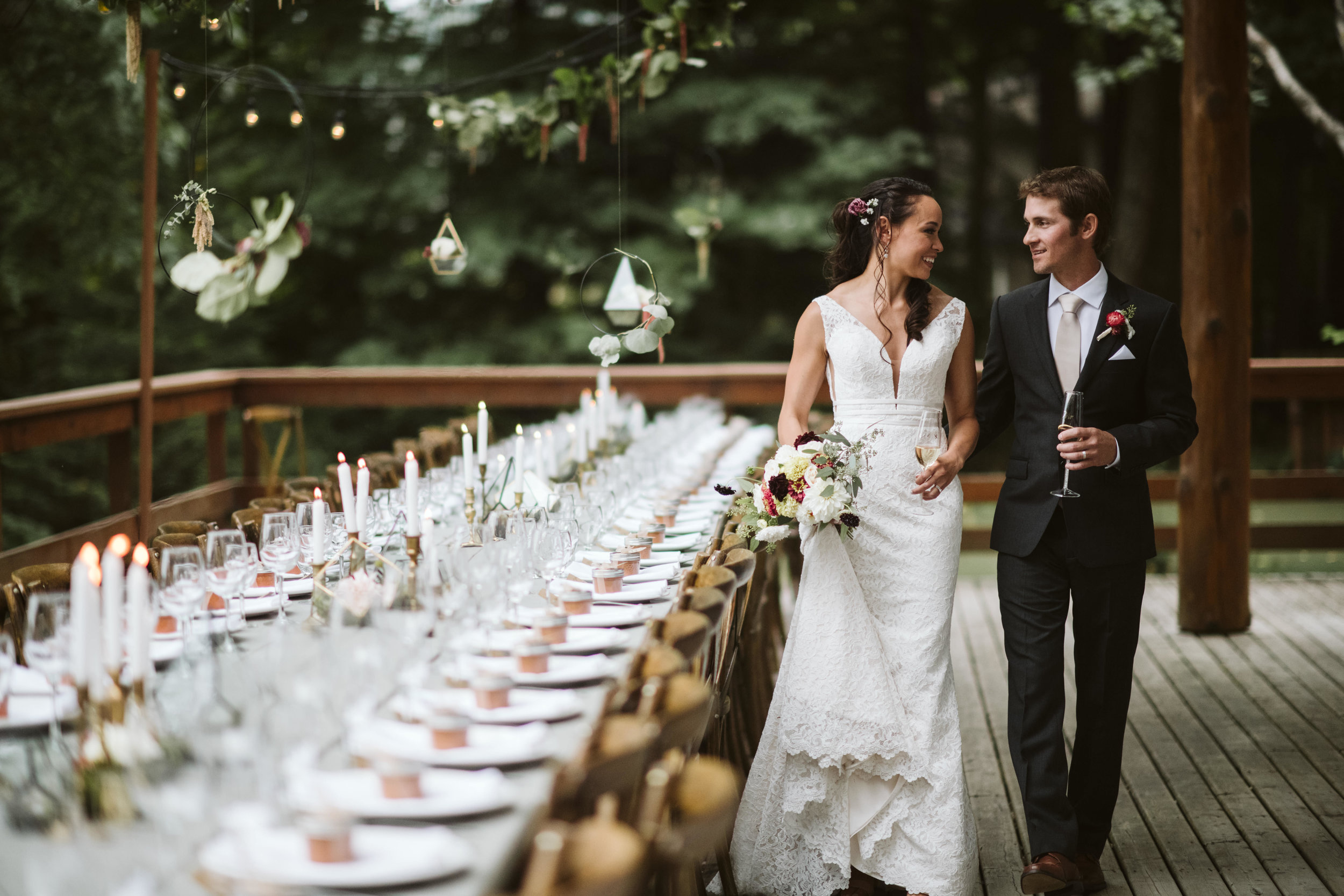 stunning outdoor wedding venue