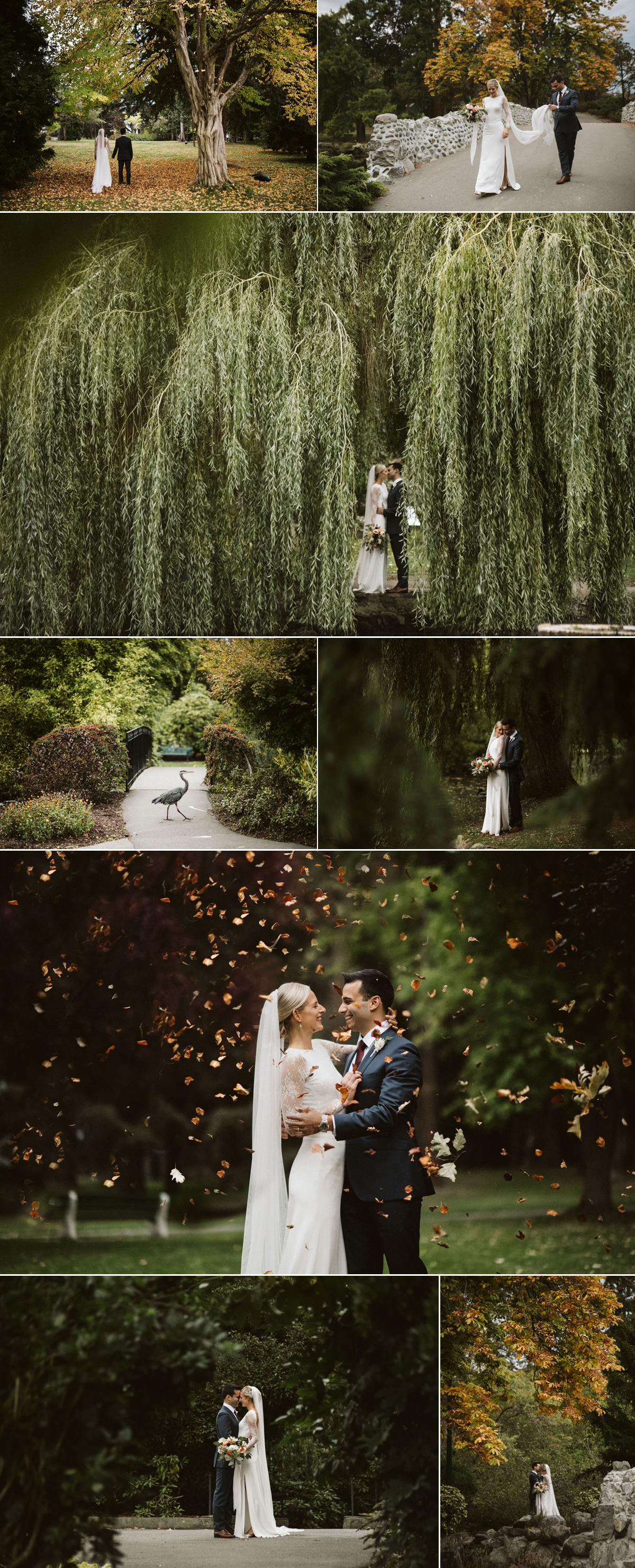 amazing fall wedding