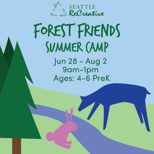 Forest Friends Summer Camp, June 28-July 2