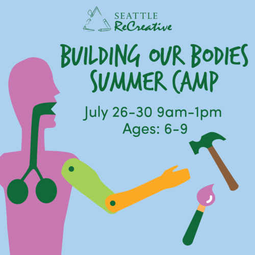 Building our Bodies Summer Camp, July 26-30