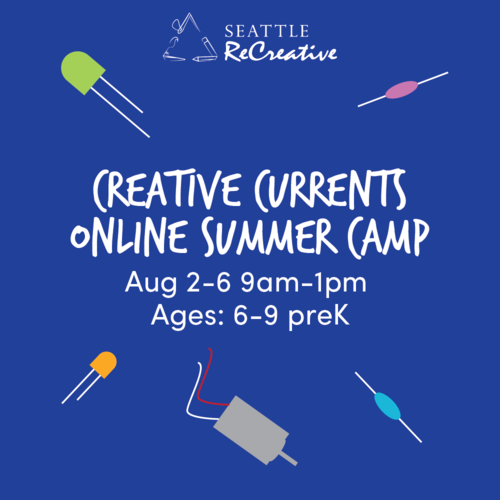 Creative Currents Online Summer Camp, Aug 2-6