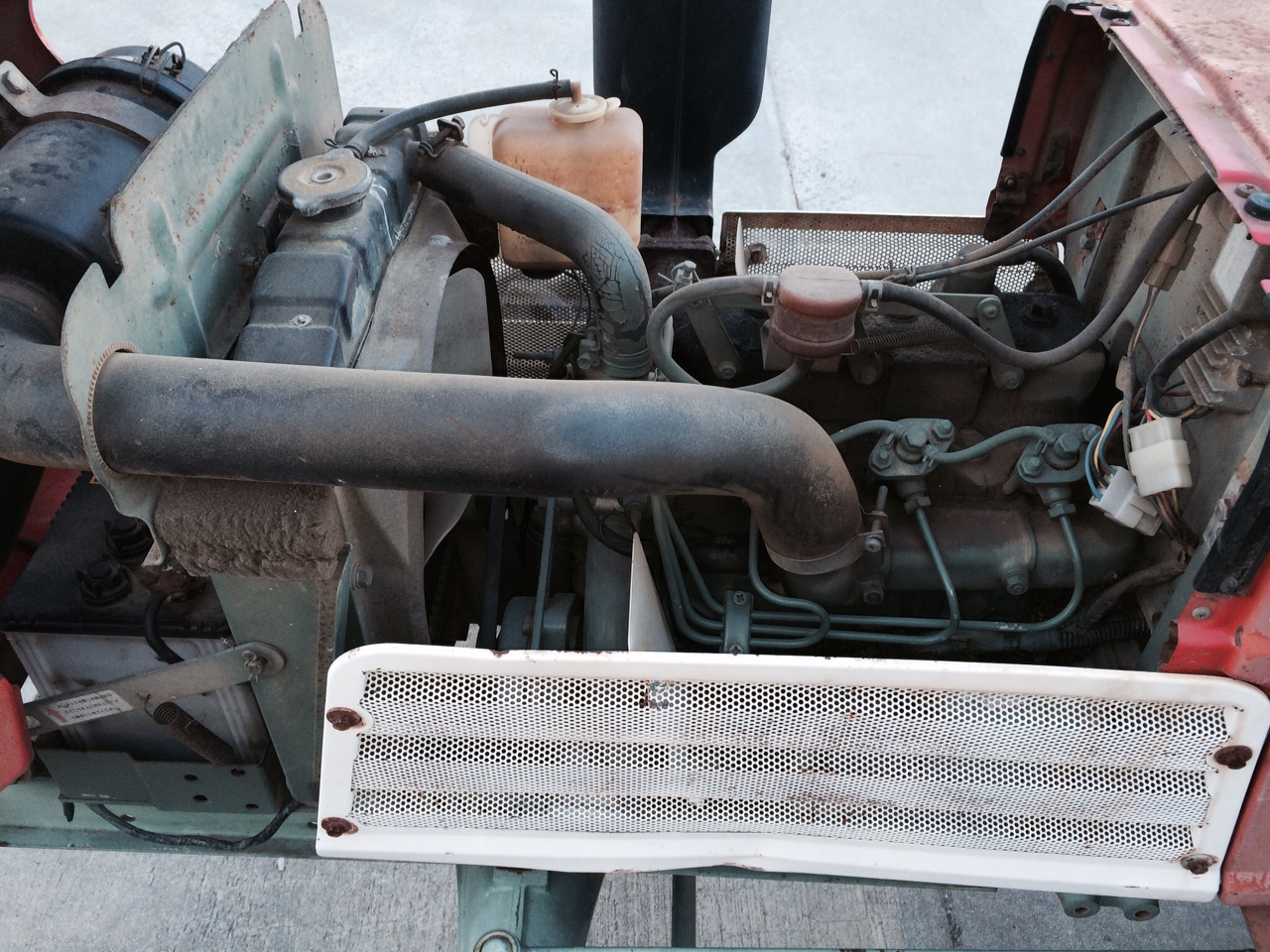 2310 - Engine Compartment - Before