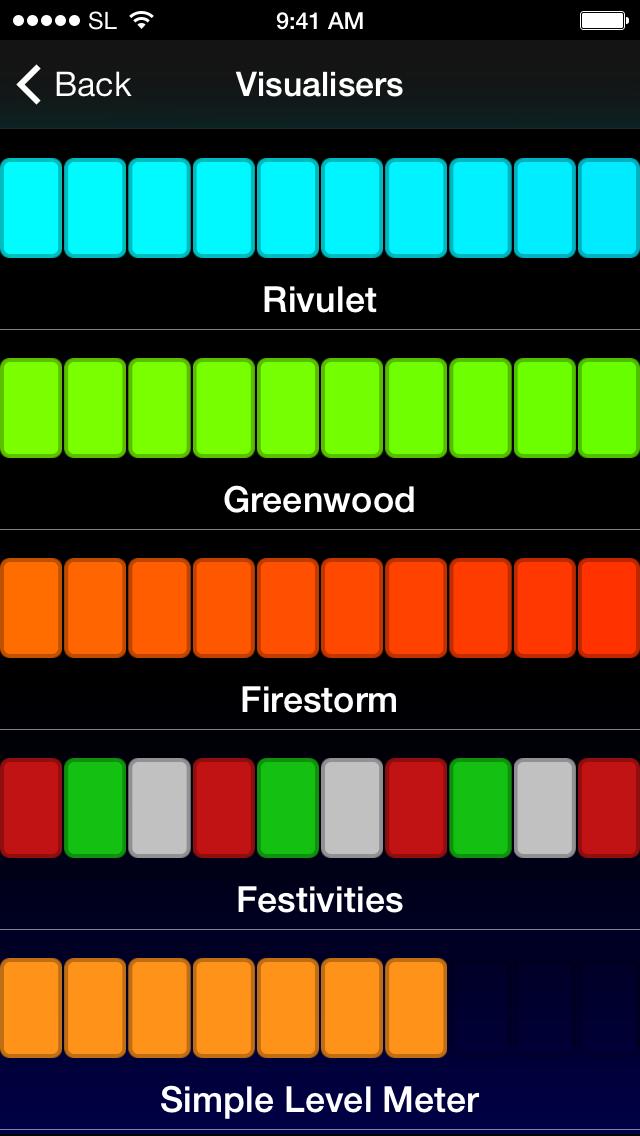 Select visualiser