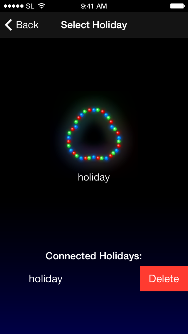 Connect Holiday(s)
