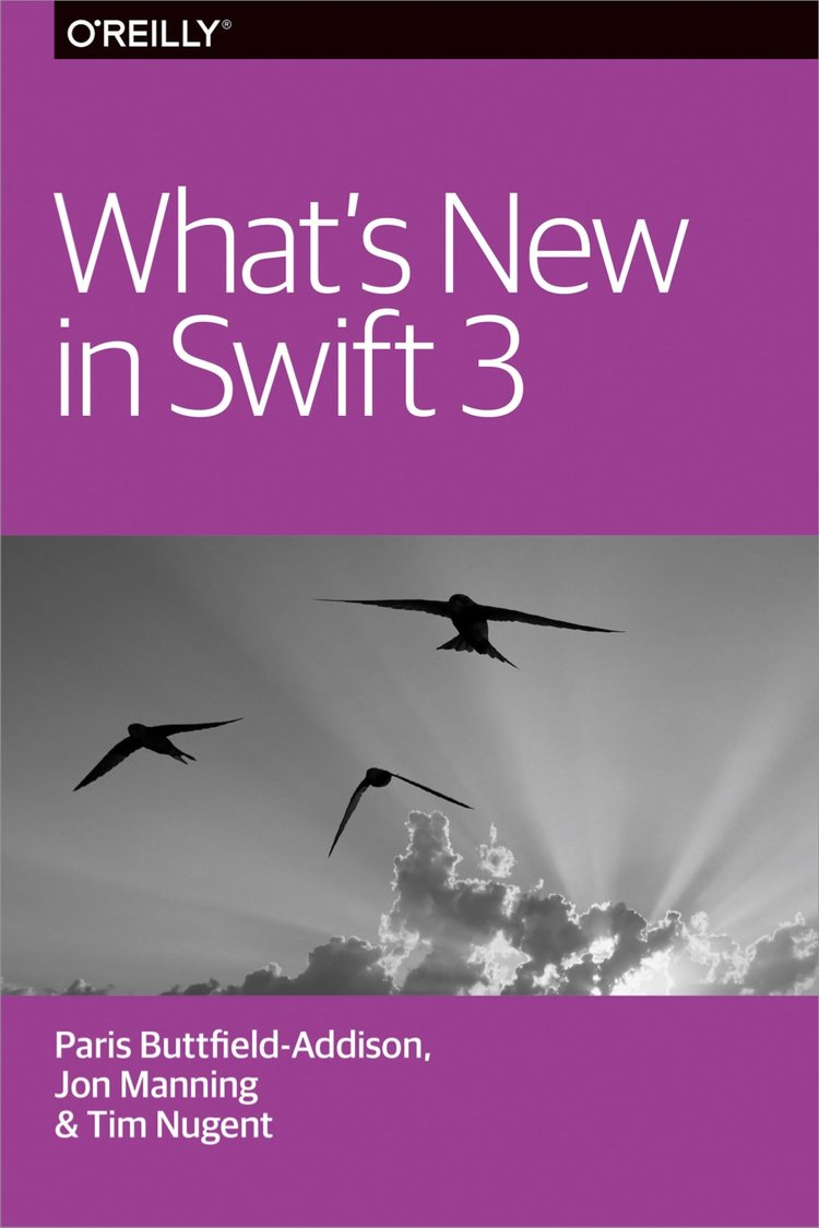 Read our free  What's New in Swift  report to get up to speed with the latest on Swift 3.  A report on Swift 4 is coming soon!