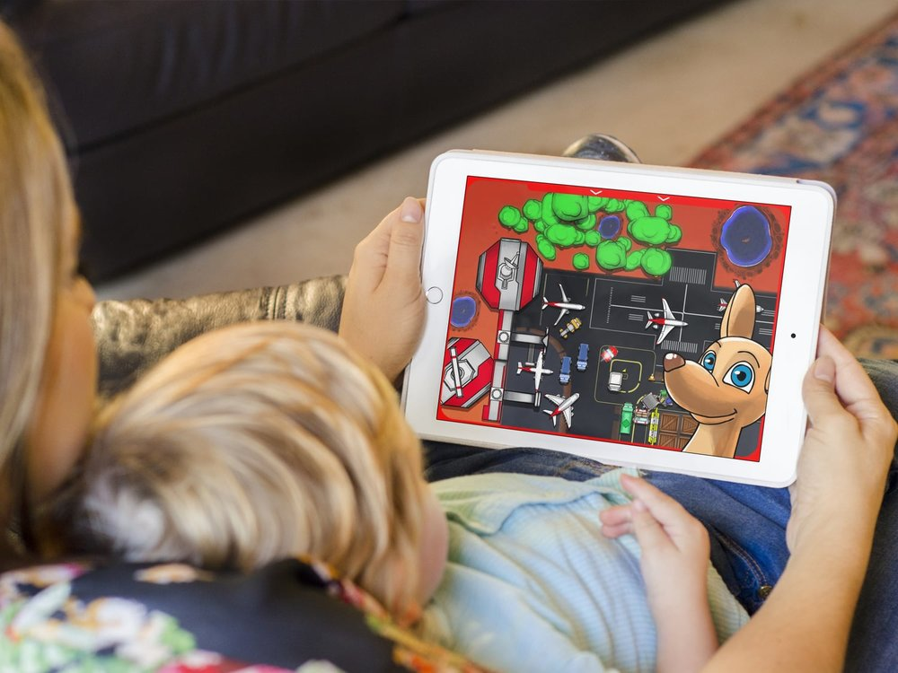 This is the  Qantas Joey Playbox , and it won an iAward, and developed a great following.
