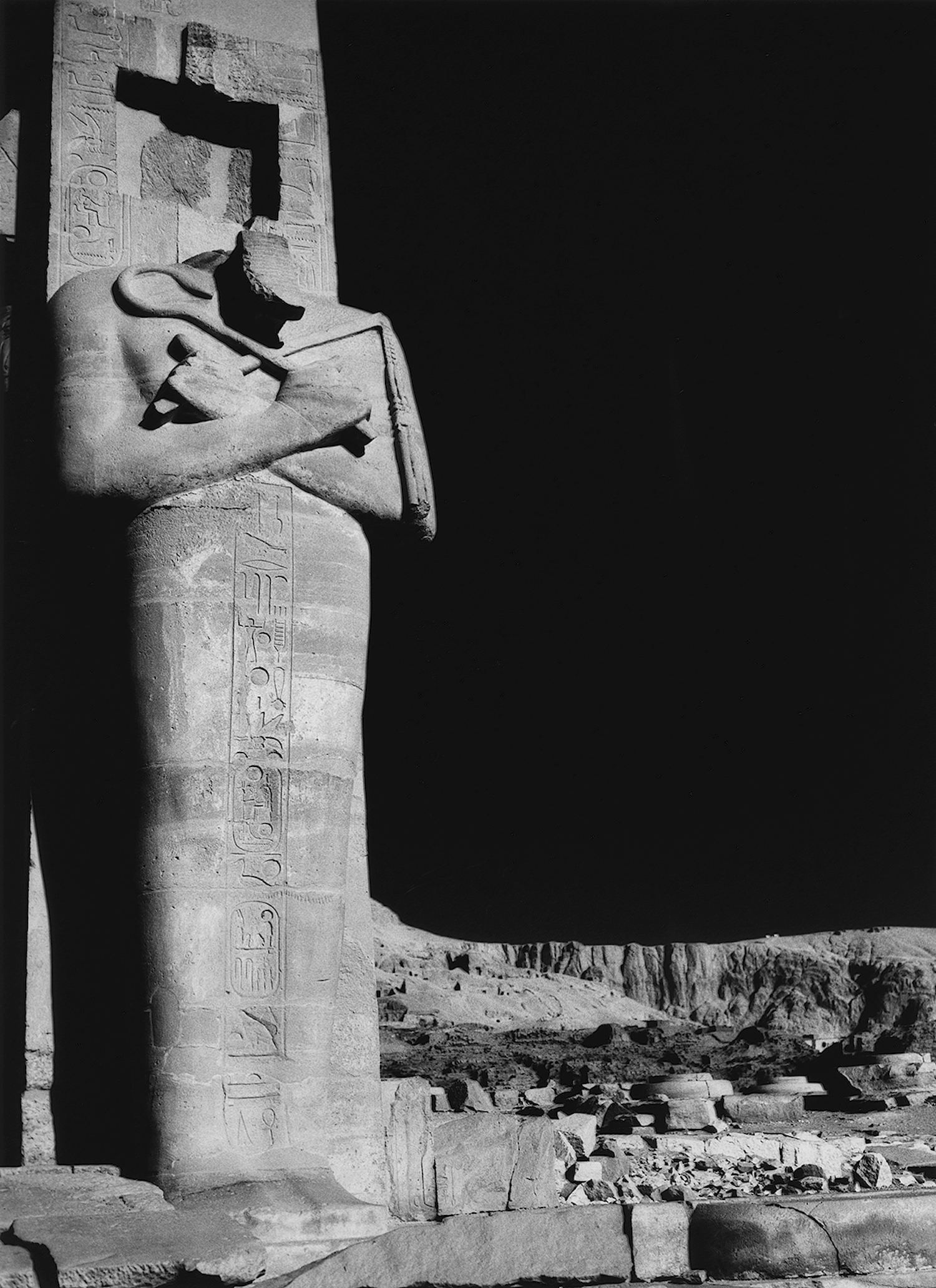 Statue of Rameses II, Western Thebes
