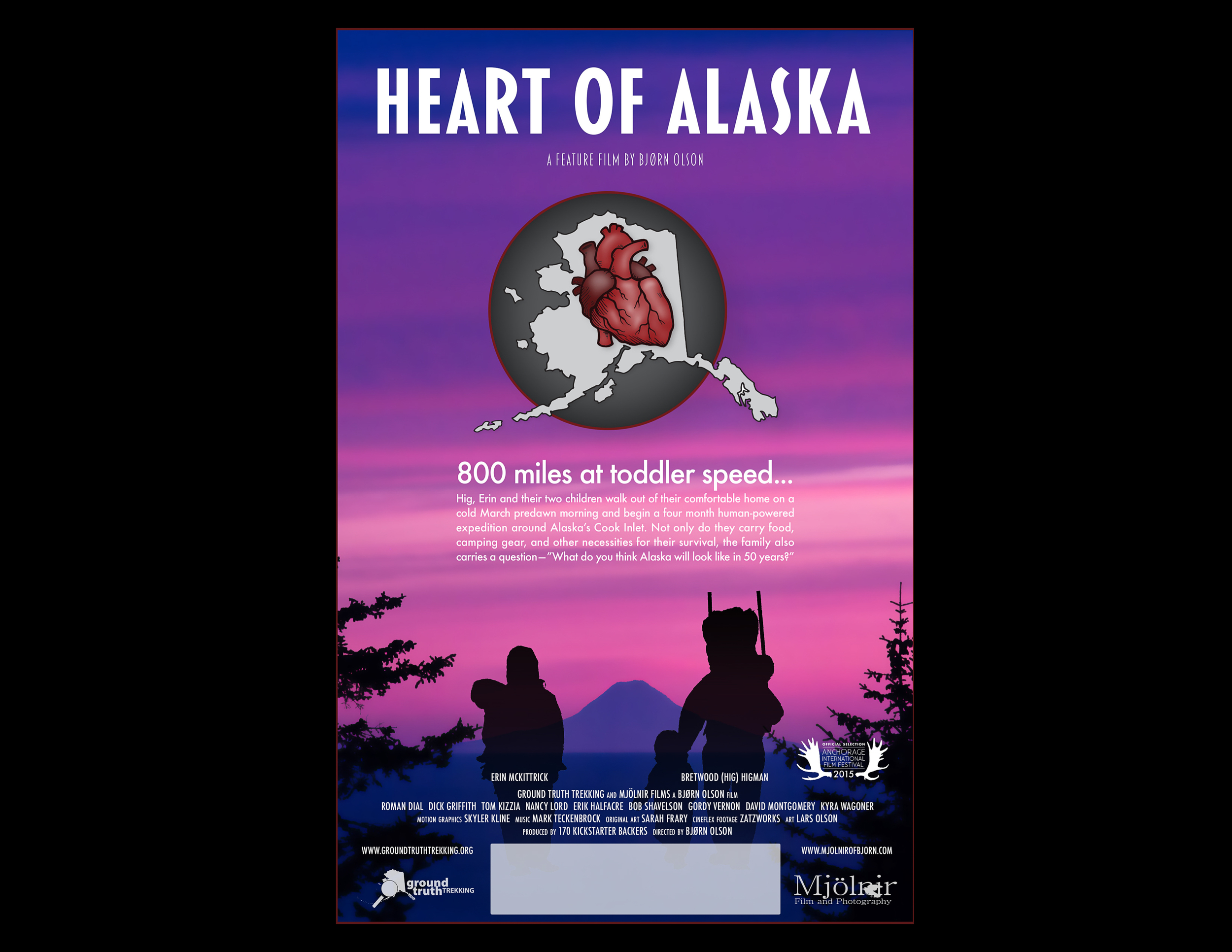 Heart of Alaska - promotional poster