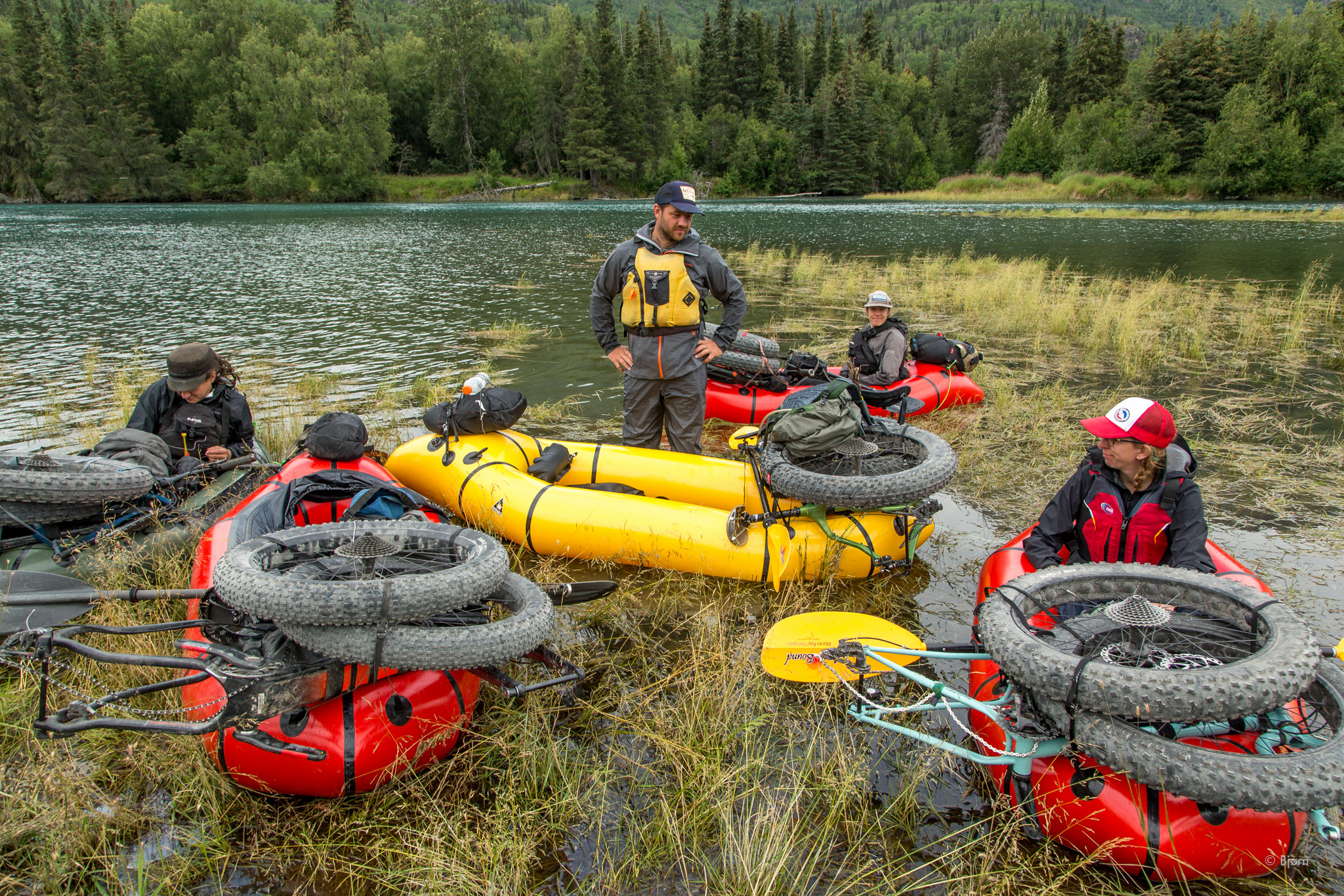 Packrafting the Kenai Watershed