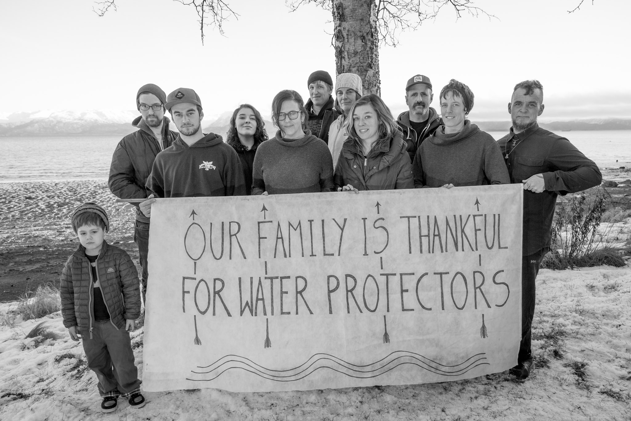 Our Family Is Thankful For Water Protectors