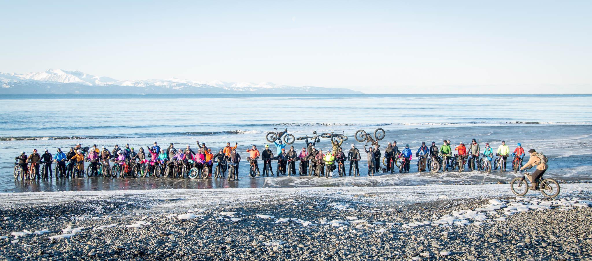 Homer Cycling Club's Big Fat Bike Festival - Homer, Alaska.