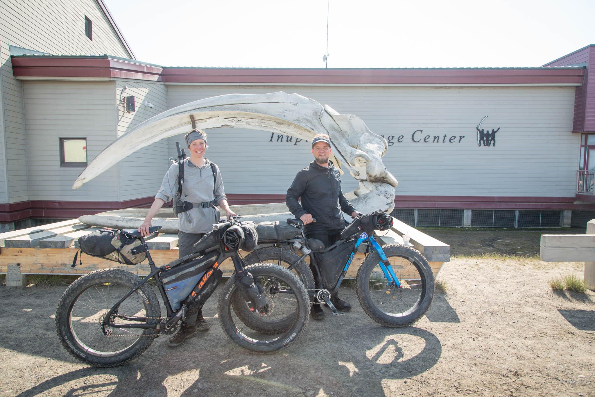 Bjørn and Kim finish their expedition to Utqiagvik, Alaska.