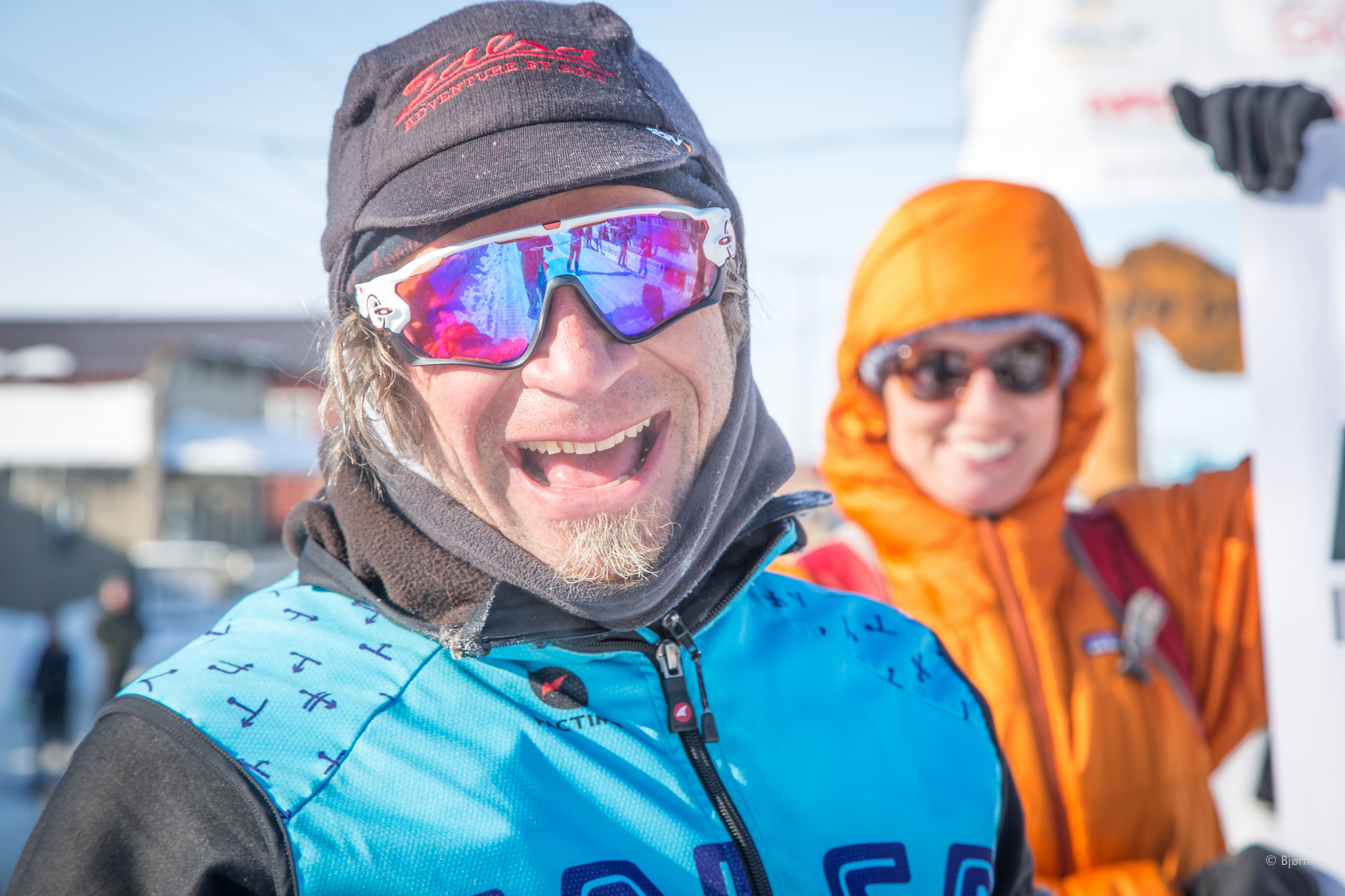Salsa rider and all around BA, Jay Petervary, was the first human-powered athlete to Nome this year. Congratulations, Jay!
