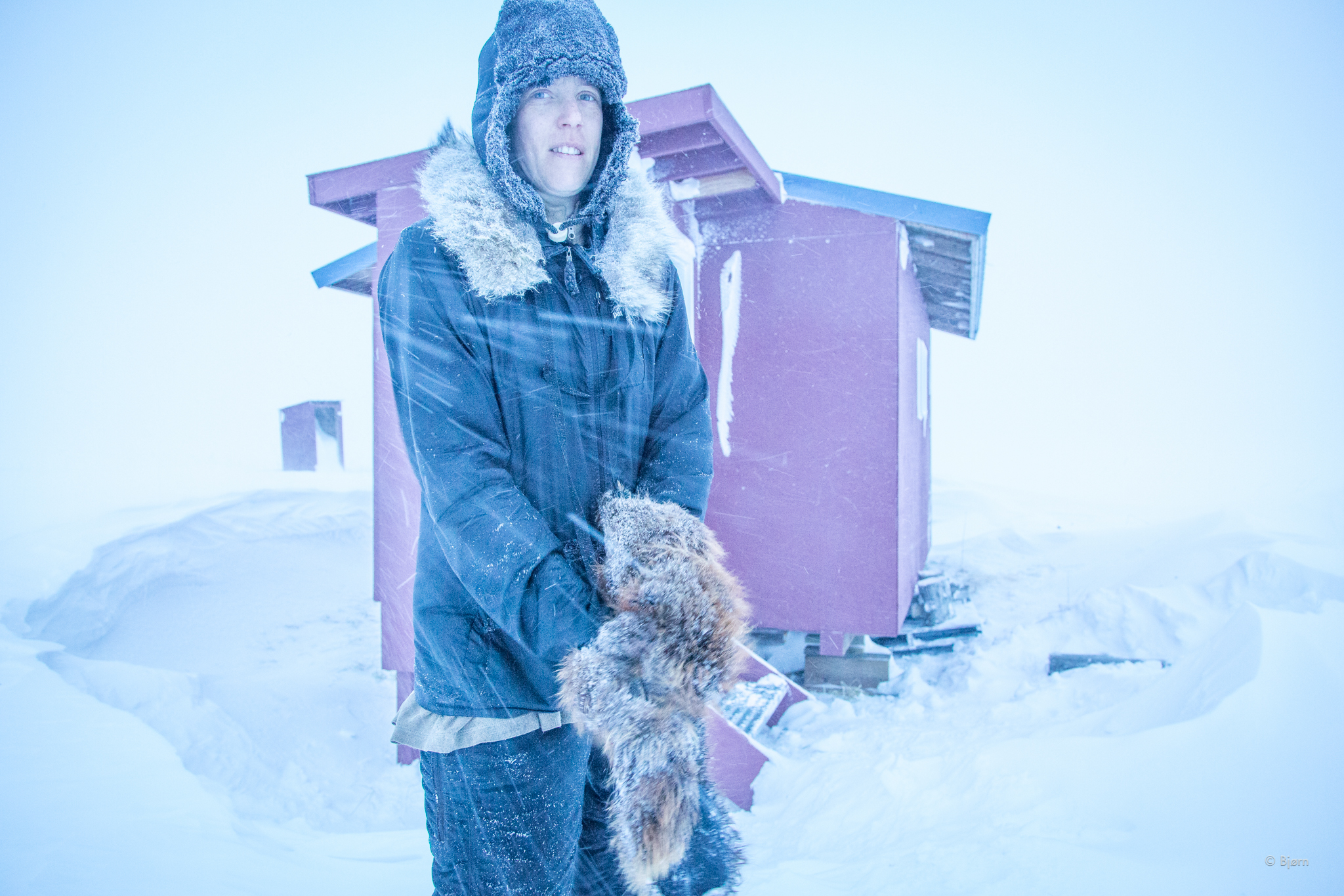 Kim and I spent two nights in this shelter sitting out the blizzard and discussing what to do. With all the new snow and all the snow in the forecast we made the realization that this was not a year for biking on the Iditarod Trail.