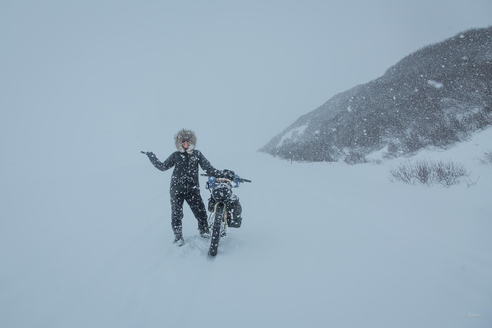 Snow, snow, snow, and more snow.
