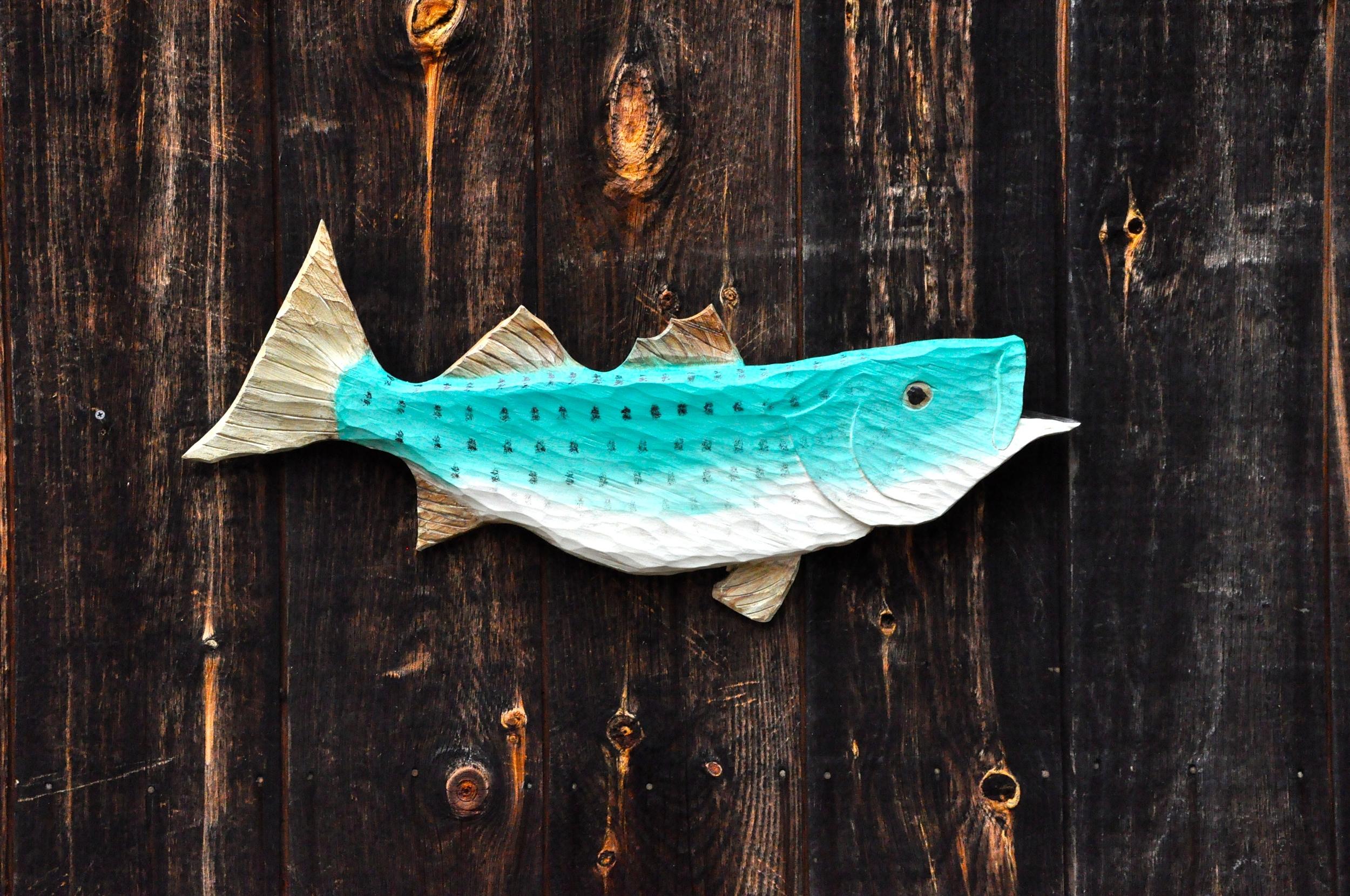 Fish Carvings