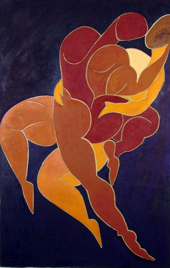 Synergy II, 20x31,2006, oil on canvas - private collection Jay Green